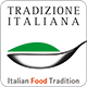 logo italian food tradition